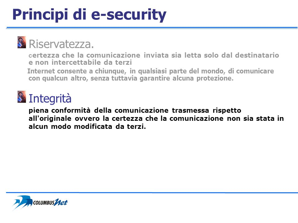 Principi di e-security