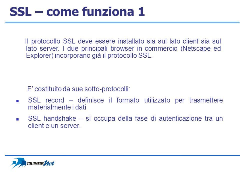 SSL – come funziona 1