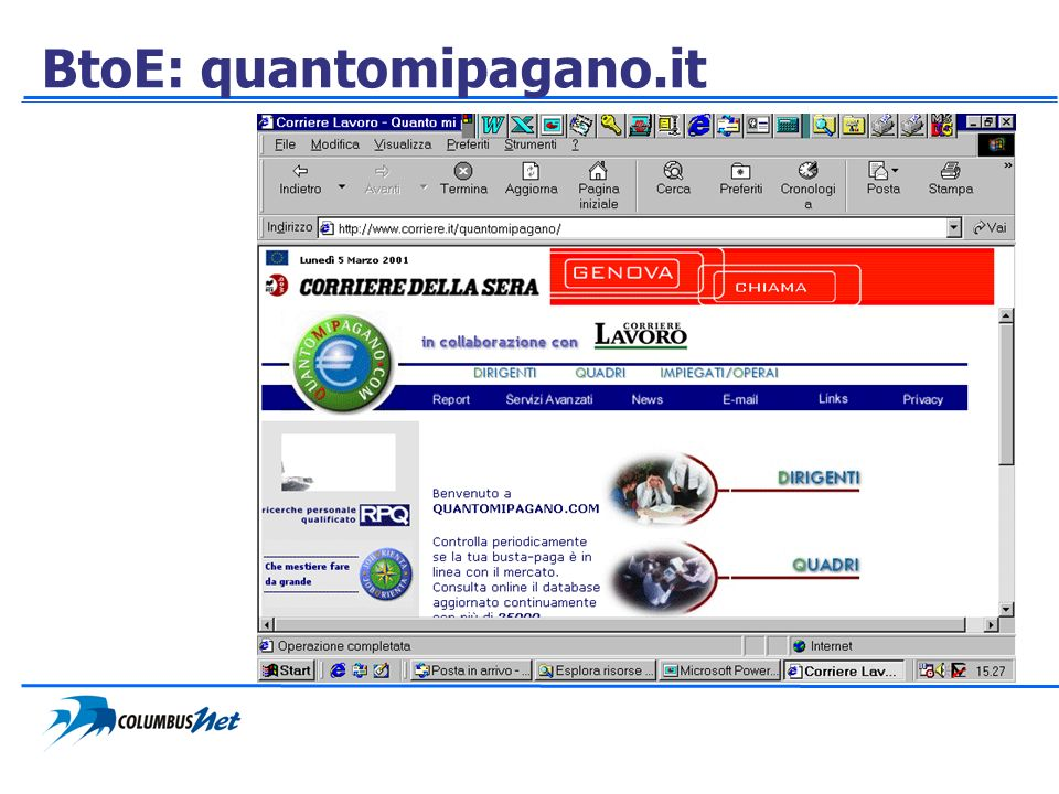 BtoE: quantomipagano.it