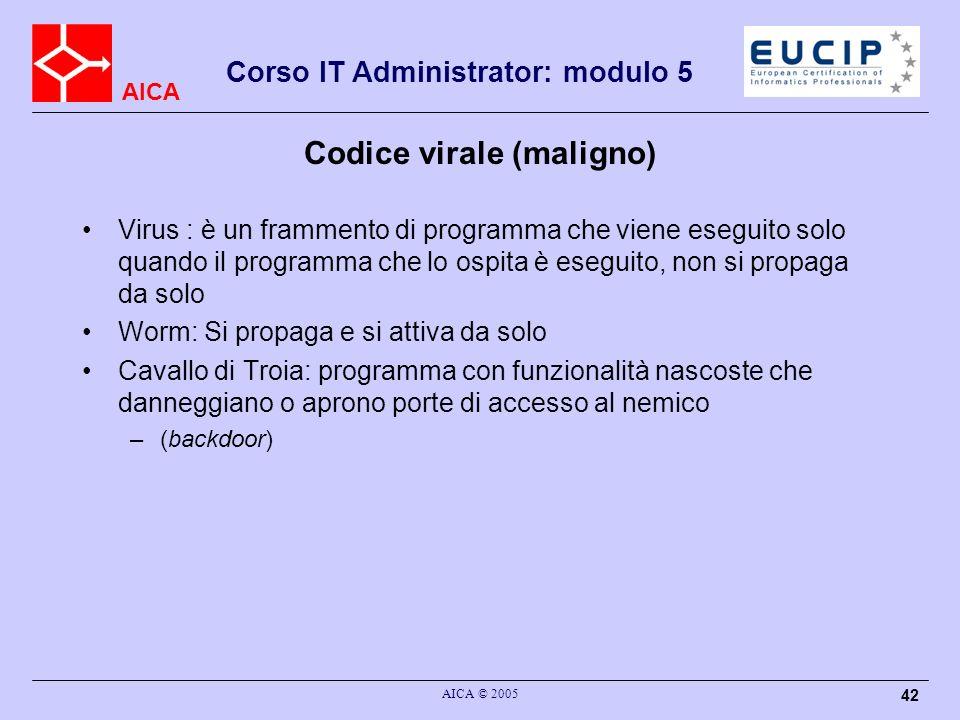 Codice virale (maligno)