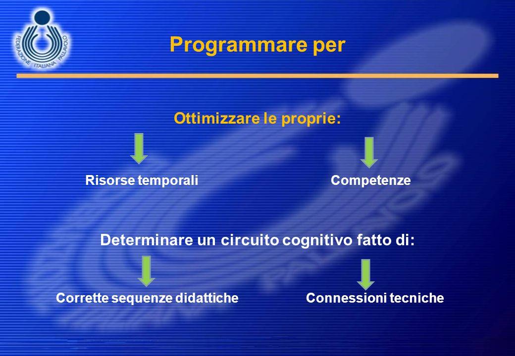 Ottimizzare le proprie: Determinare un circuito cognitivo fatto di: