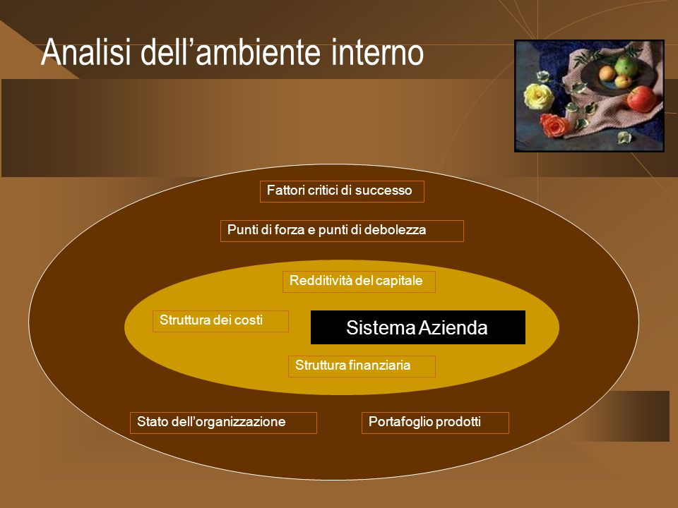 Analisi dell'ambiente interno