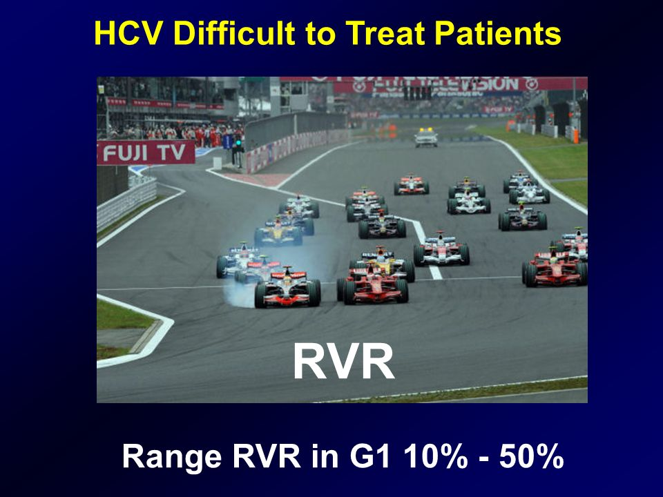 HCV Difficult to Treat Patients