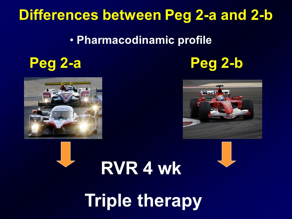 Differences between Peg 2-a and 2-b