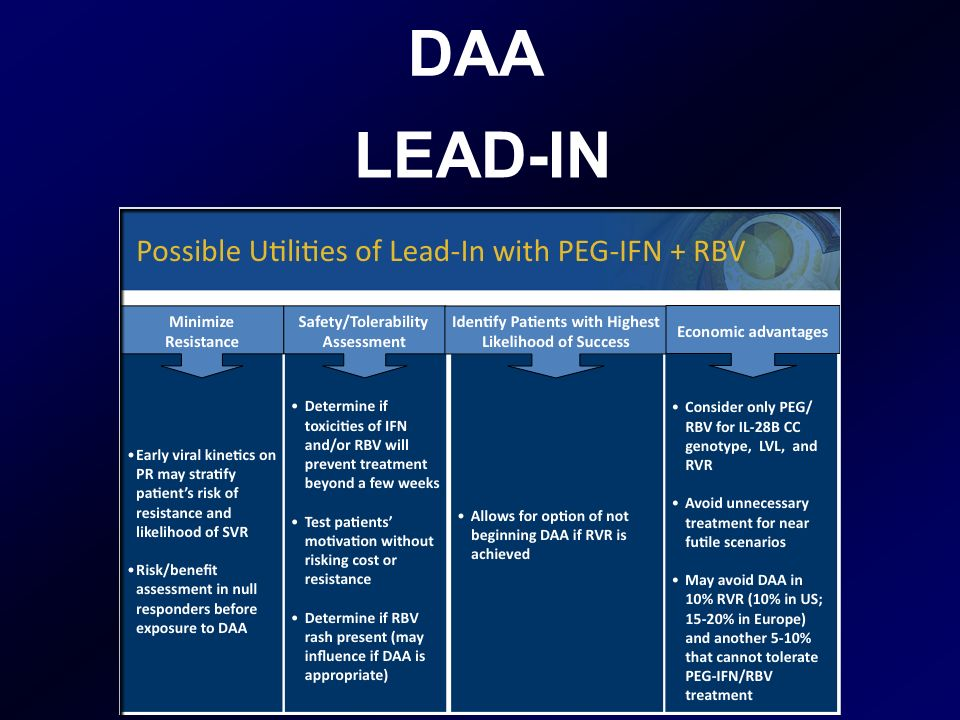 DAA LEAD-IN
