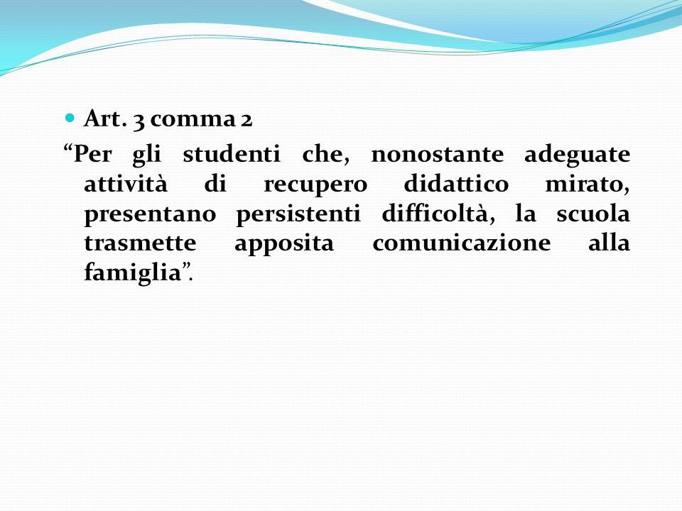Art. 3 comma 2