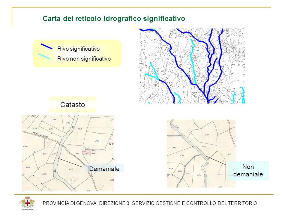 Carta del reticolo idrografico significativo