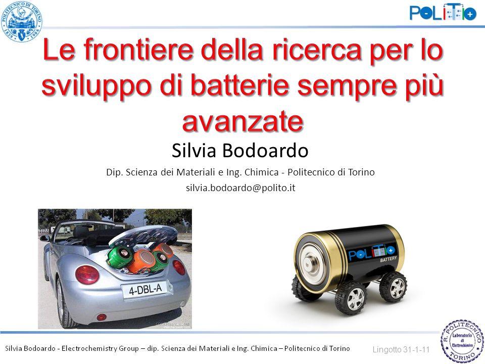 Dip. Scienza dei Materiali e Ing. Chimica - Politecnico di Torino