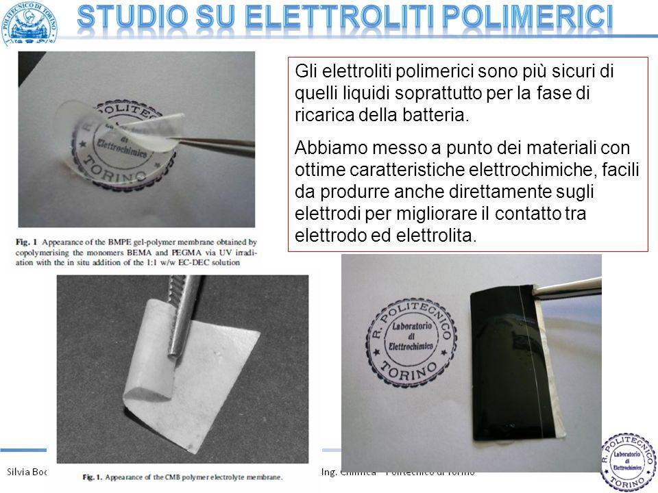 Studio su elettroliti polimerici
