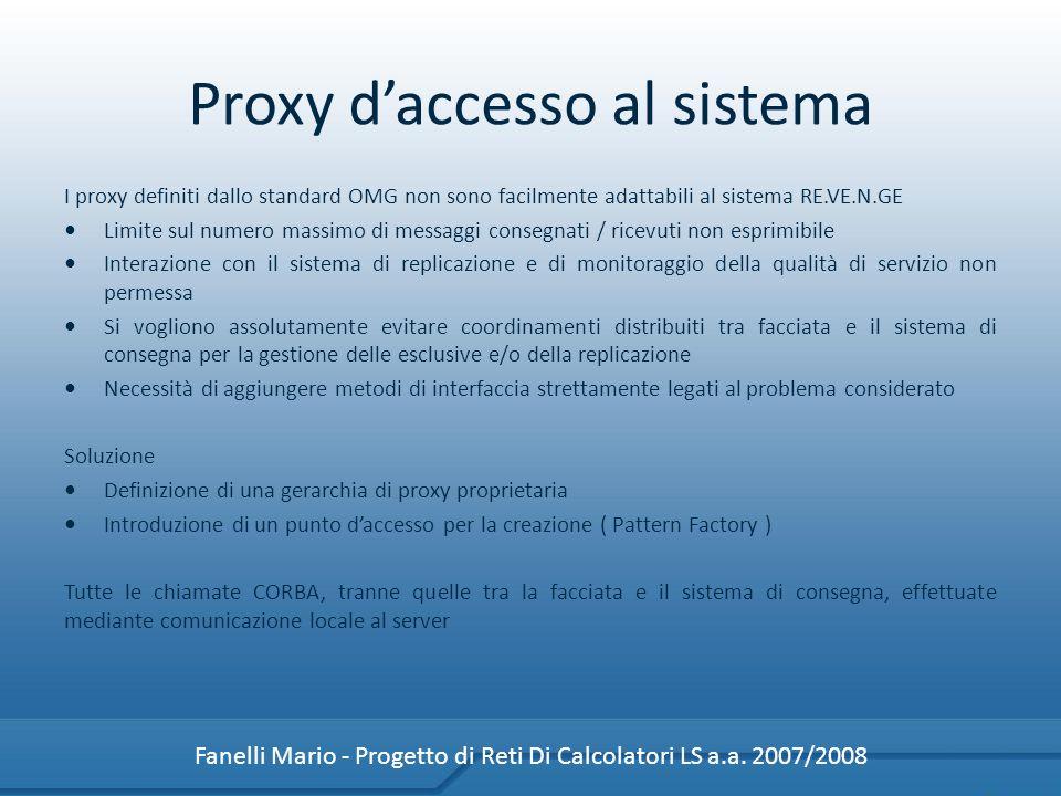 Proxy d'accesso al sistema