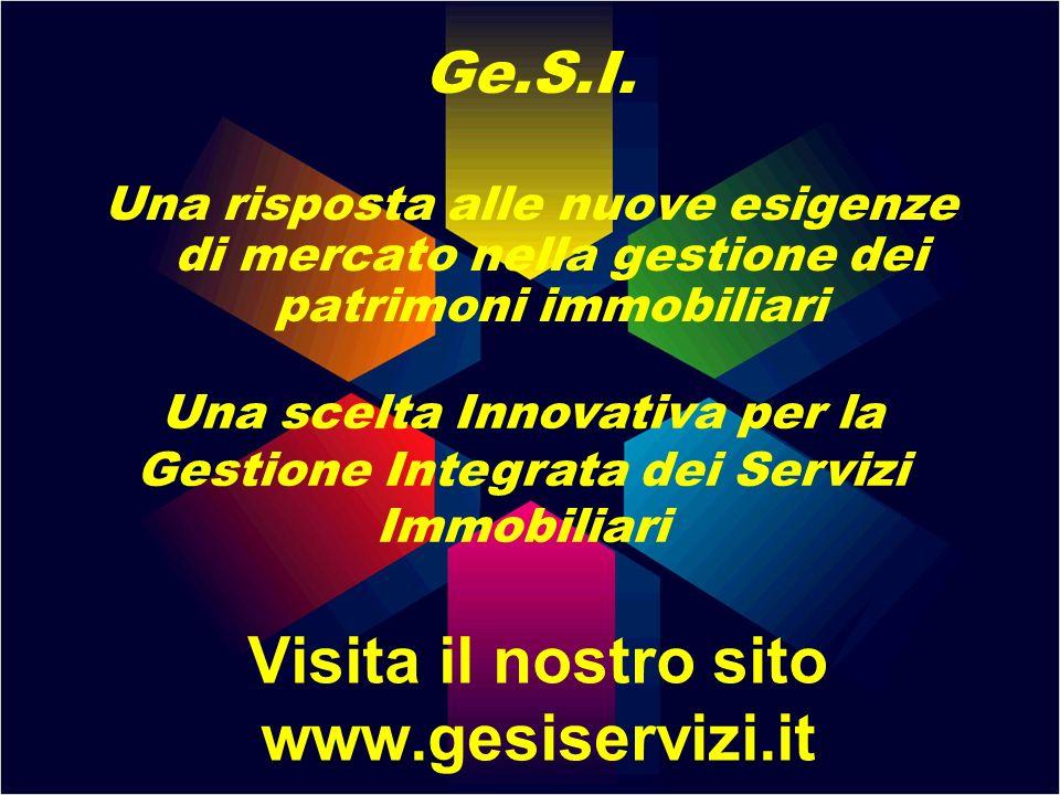 Visita il nostro sito www.gesiservizi.it