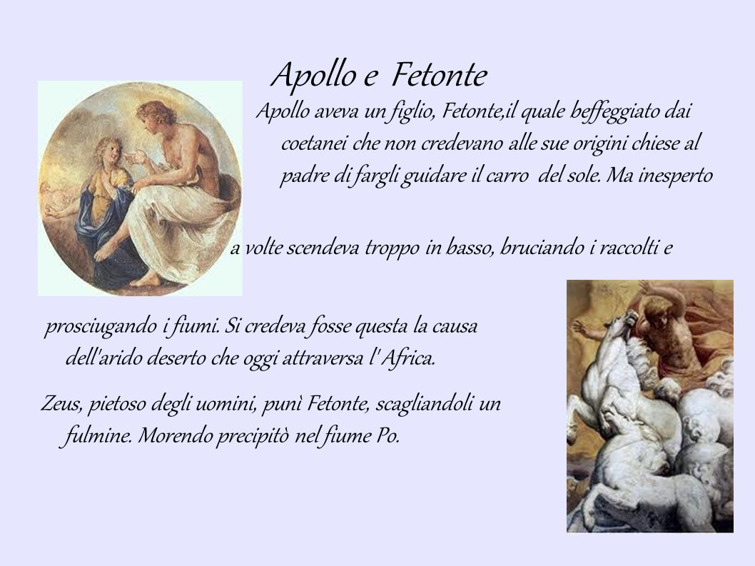 Apollo e Fetonte