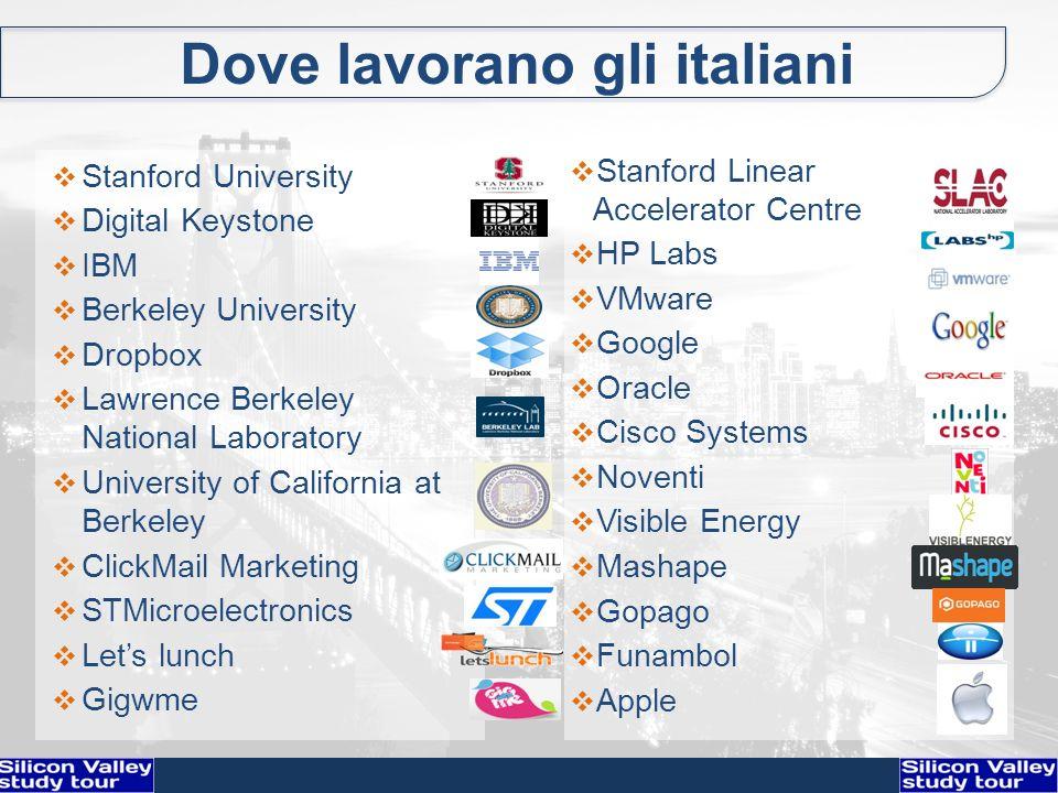 Dove lavorano gli italiani