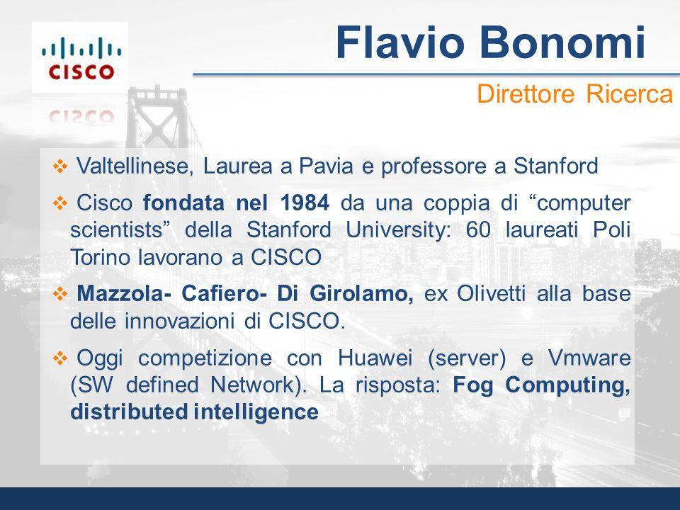 Flavio Bonomi Direttore Ricerca