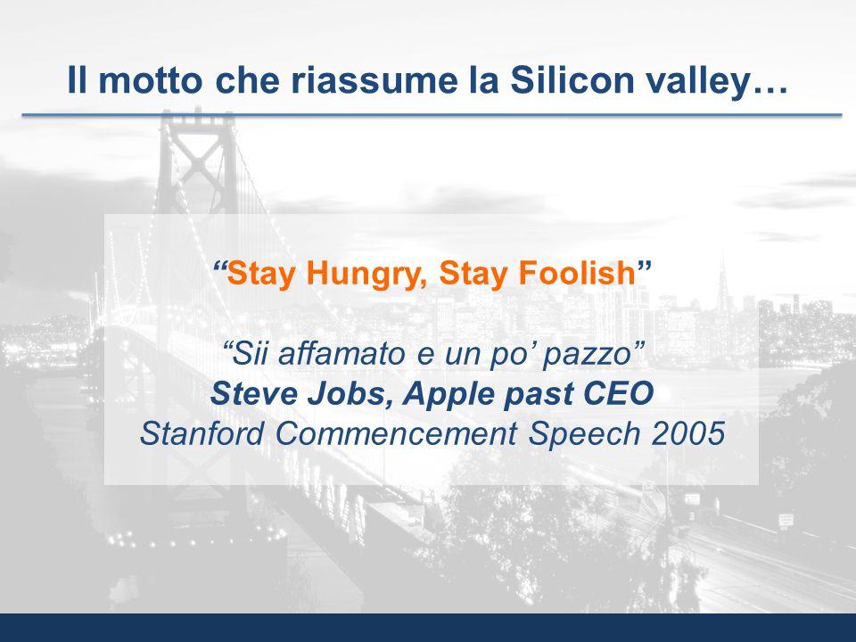 Il motto che riassume la Silicon valley…