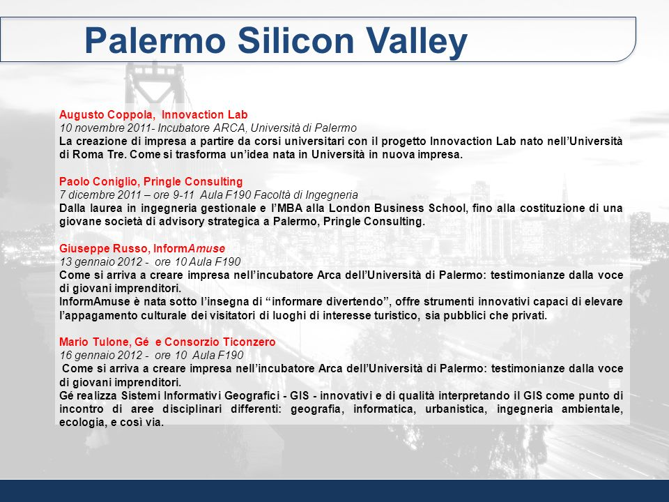 Palermo Silicon Valley