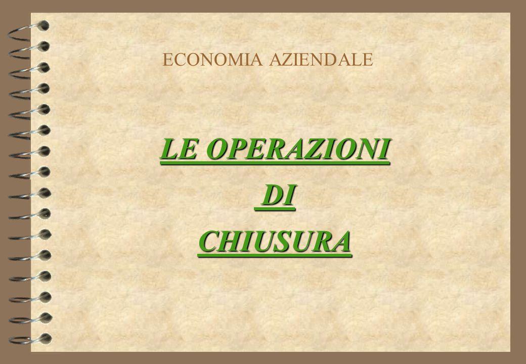 I.T.C. R. VALTURIO LE OPERAZIONI DI CHIUSURA