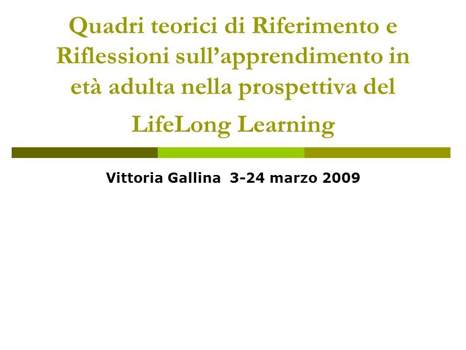 Vittoria Gallina 3-24 marzo 2009