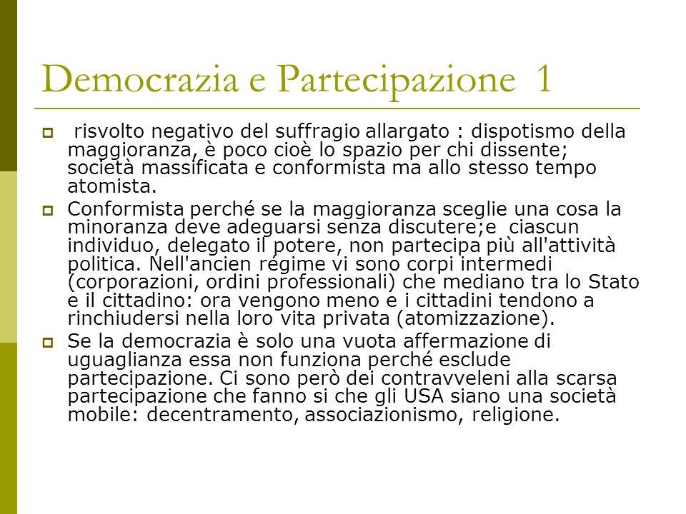 Democrazia e Partecipazione 1