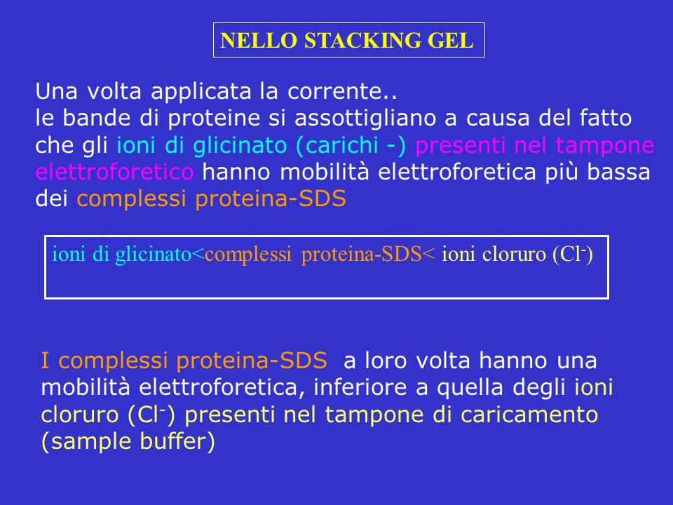 NELLO STACKING GEL Una volta applicata la corrente..