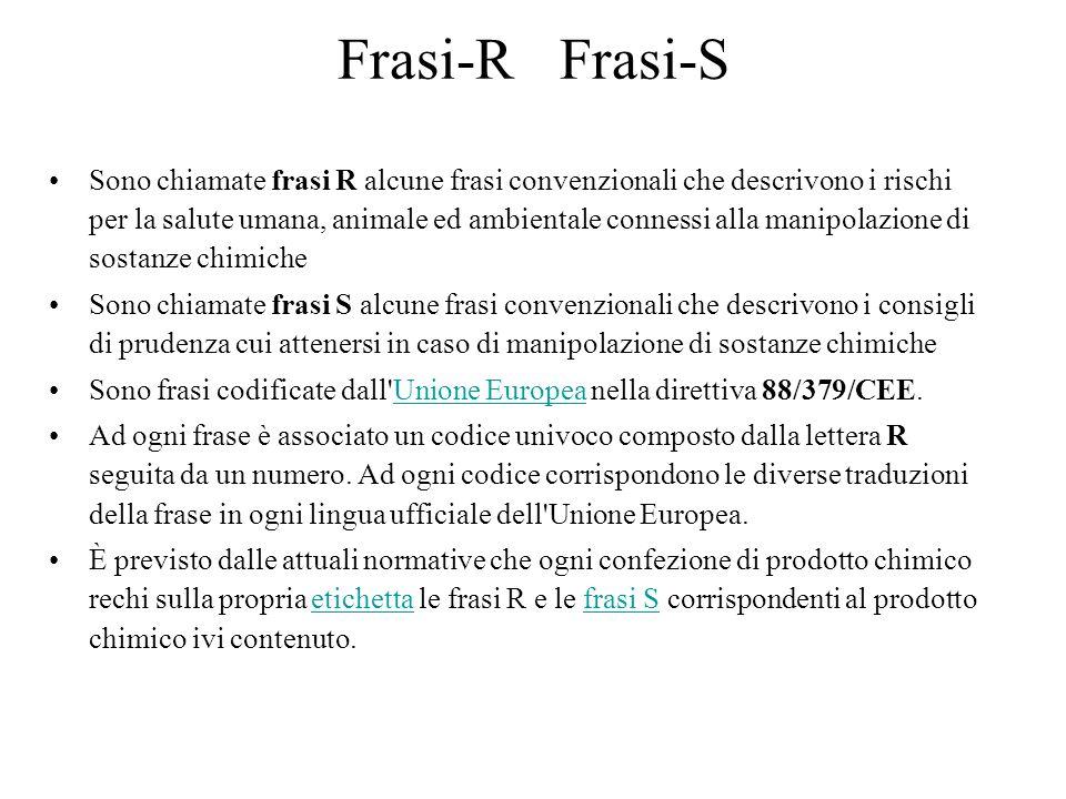 Frasi-R Frasi-S