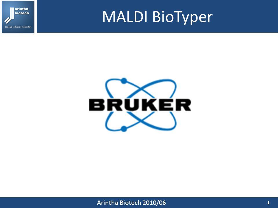 MALDI BioTyper Arintha Biotech 2010/06