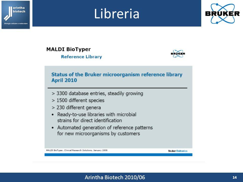 Libreria Arintha Biotech 2010/06
