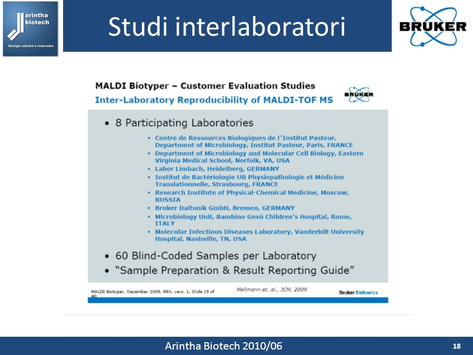 Studi interlaboratori