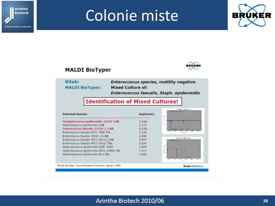 Colonie miste Arintha Biotech 2010/06