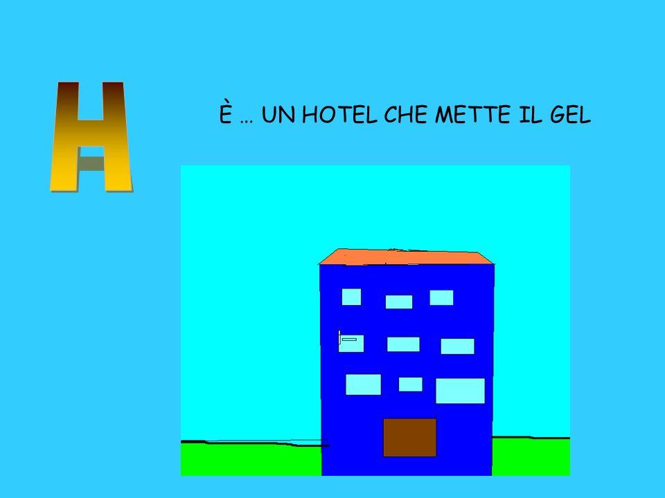 H È … UN HOTEL CHE METTE IL GEL
