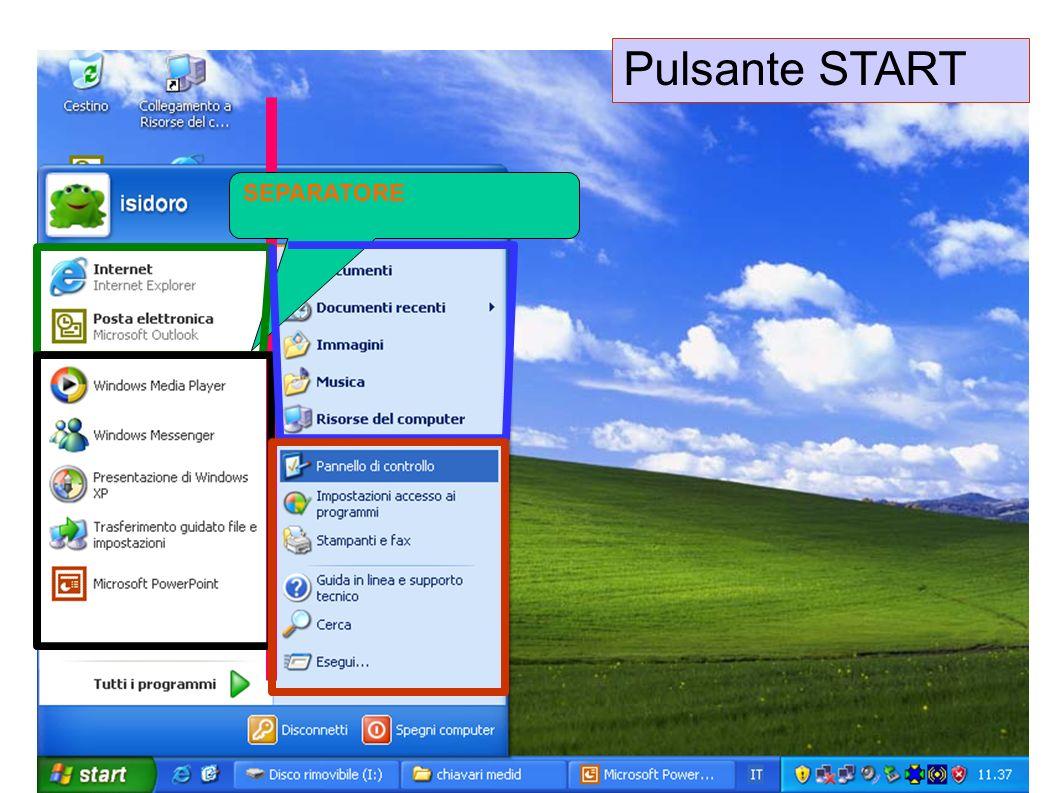 Pulsante START SEPARATORE Lastrina 22