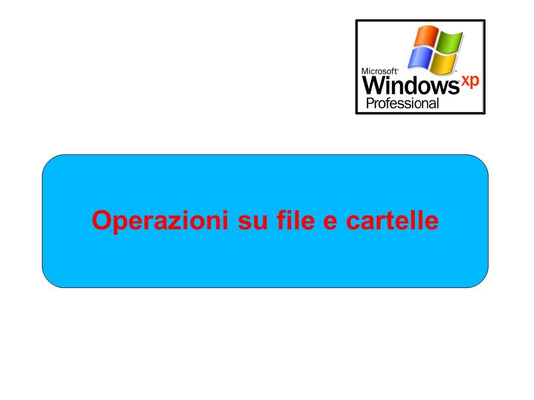 Operazioni su file e cartelle