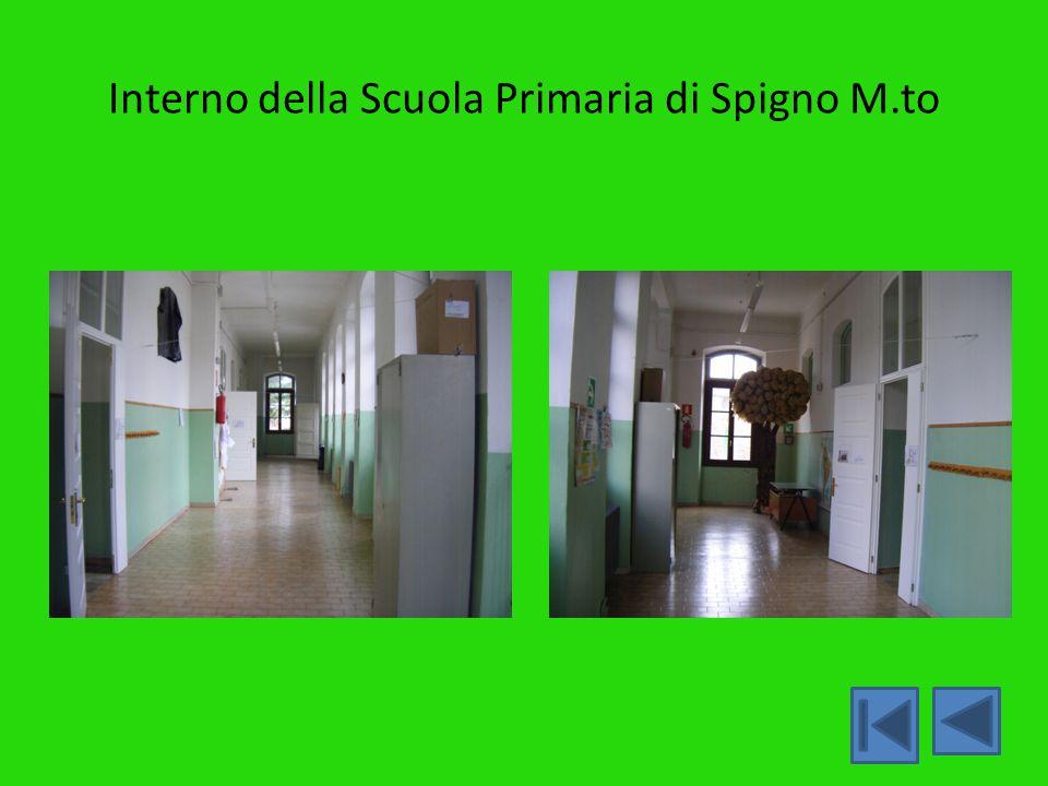 Interno della Scuola Primaria di Spigno M.to
