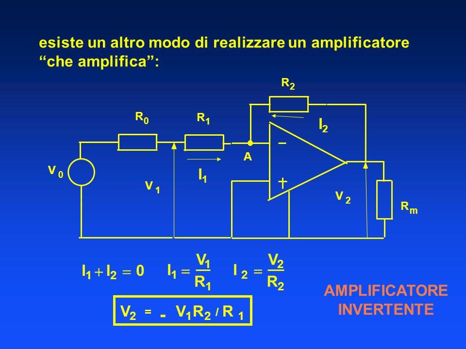 - esiste un altro modo di realizzare un amplificatore che amplifica :