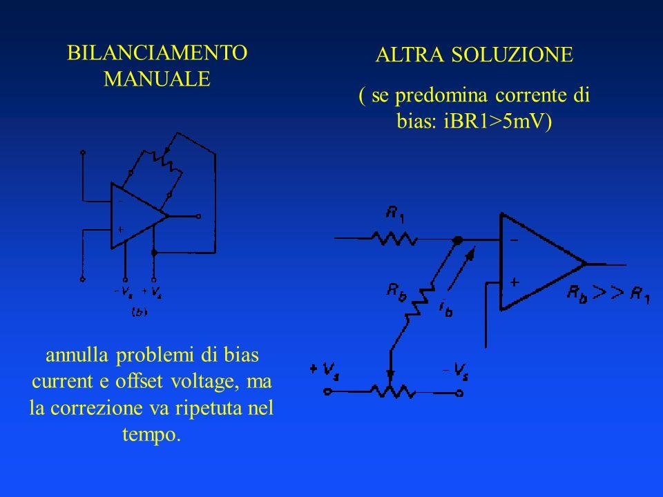 BILANCIAMENTO MANUALE ALTRA SOLUZIONE