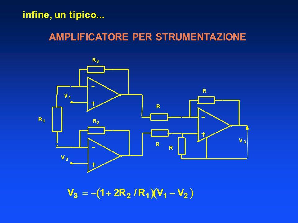   infine, un tipico... AMPLIFICATORE PER STRUMENTAZIONE V   1  2