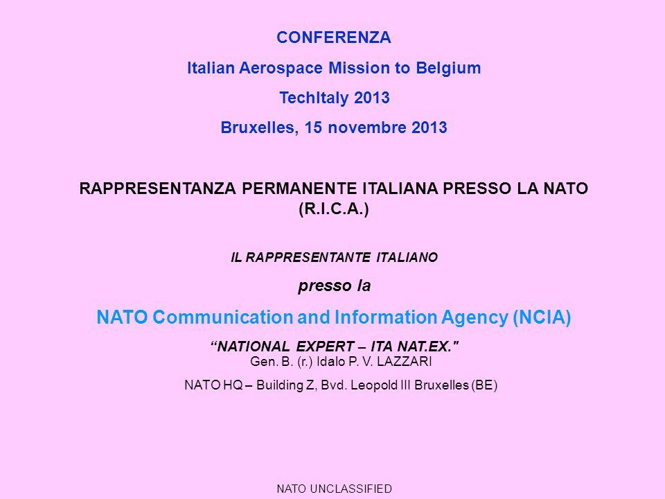 NATO Communication and Information Agency (NCIA)