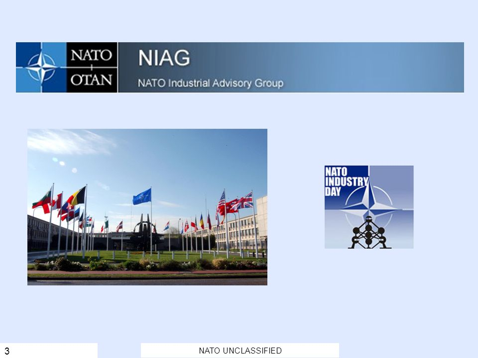 NATO UNCLASSIFIED 3 Key Points: NC3A is one of NATO's largest Agencies