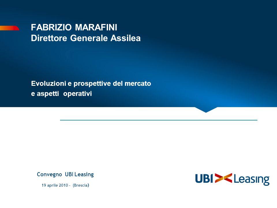 FABRIZIO MARAFINI Direttore Generale Assilea