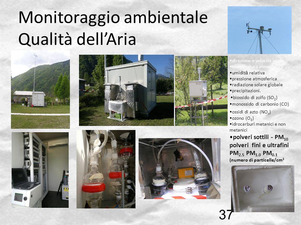 Monitoraggio ambientale Qualità dell'Aria