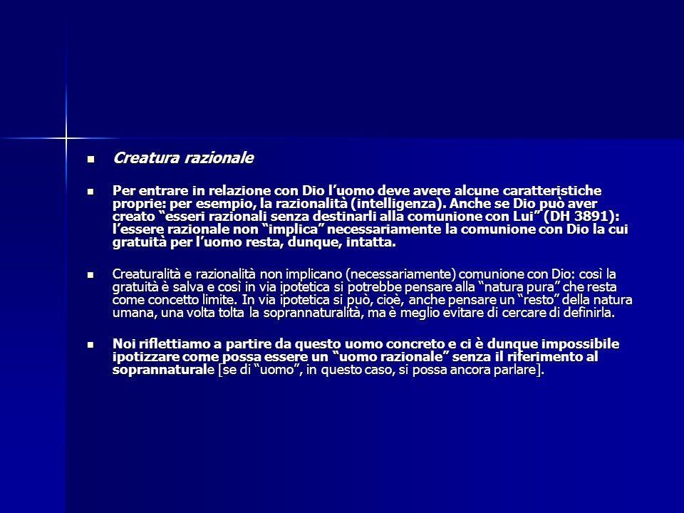 Creatura razionale