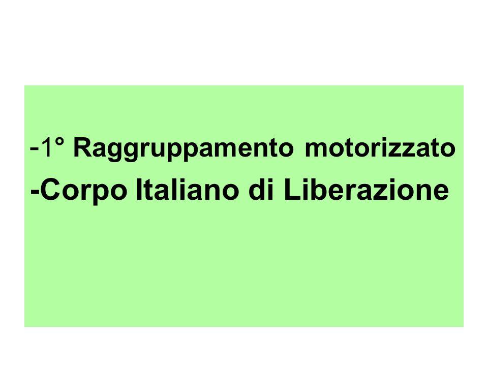 -1° Raggruppamento motorizzato