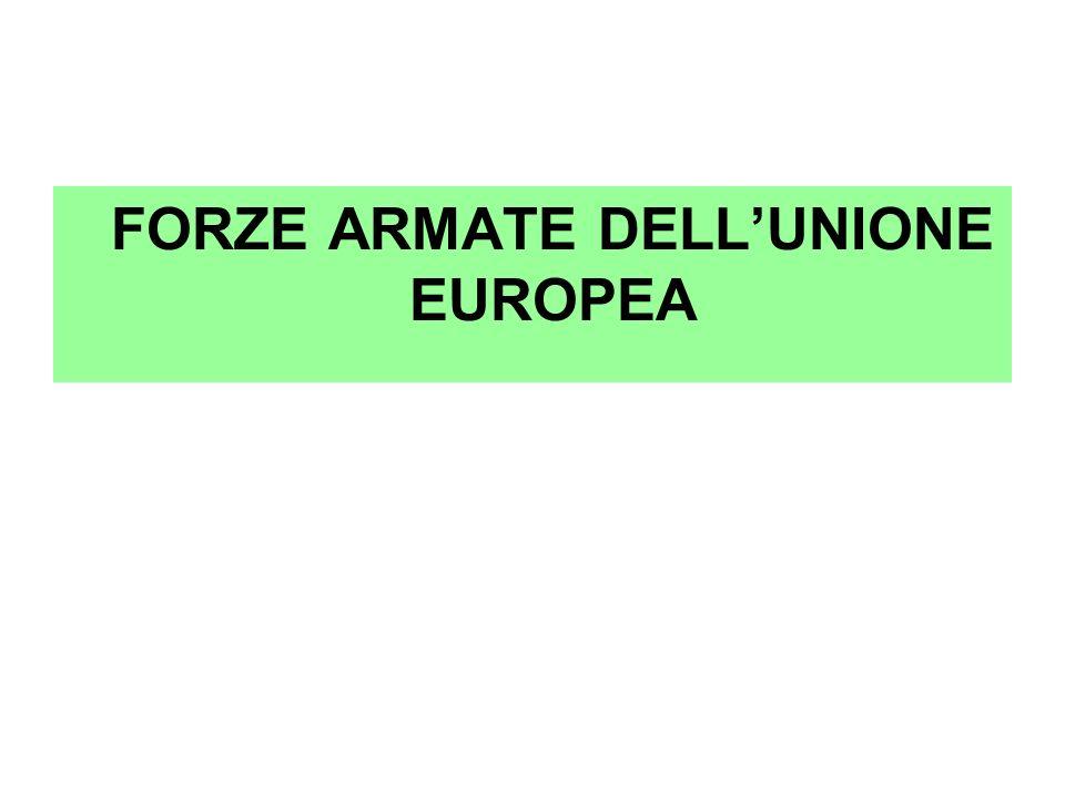 FORZE ARMATE DELL'UNIONE EUROPEA