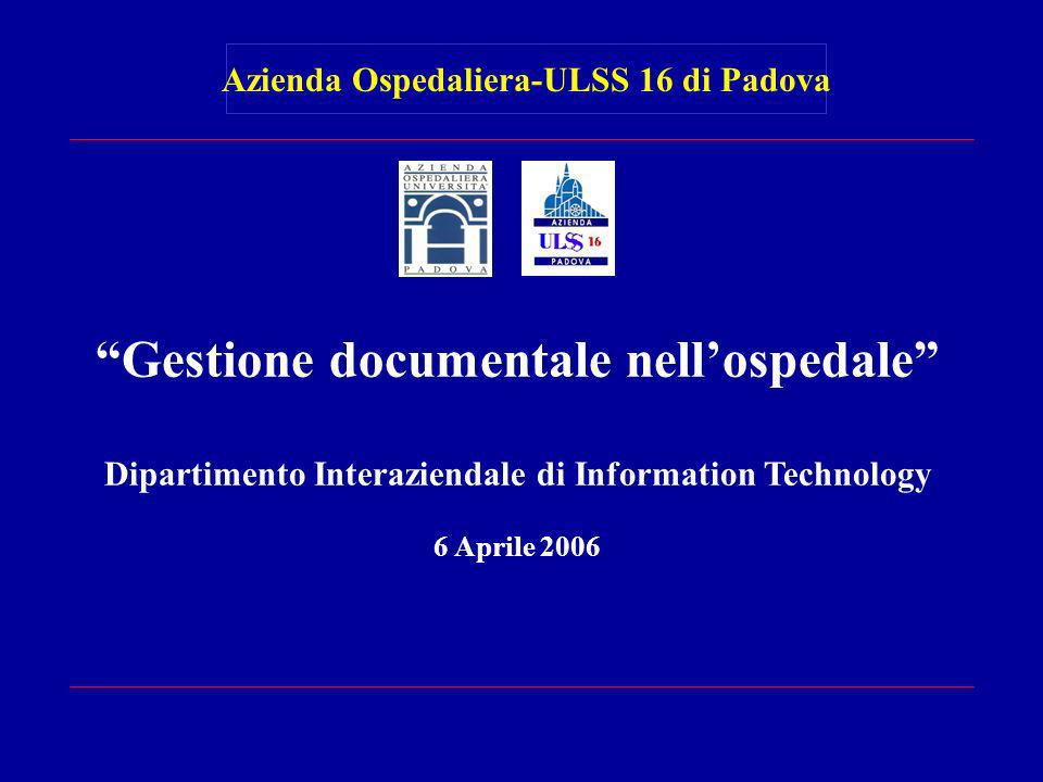 Gestione documentale nell'ospedale
