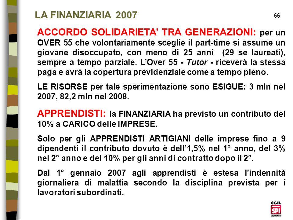 LA FINANZIARIA 2007 66.