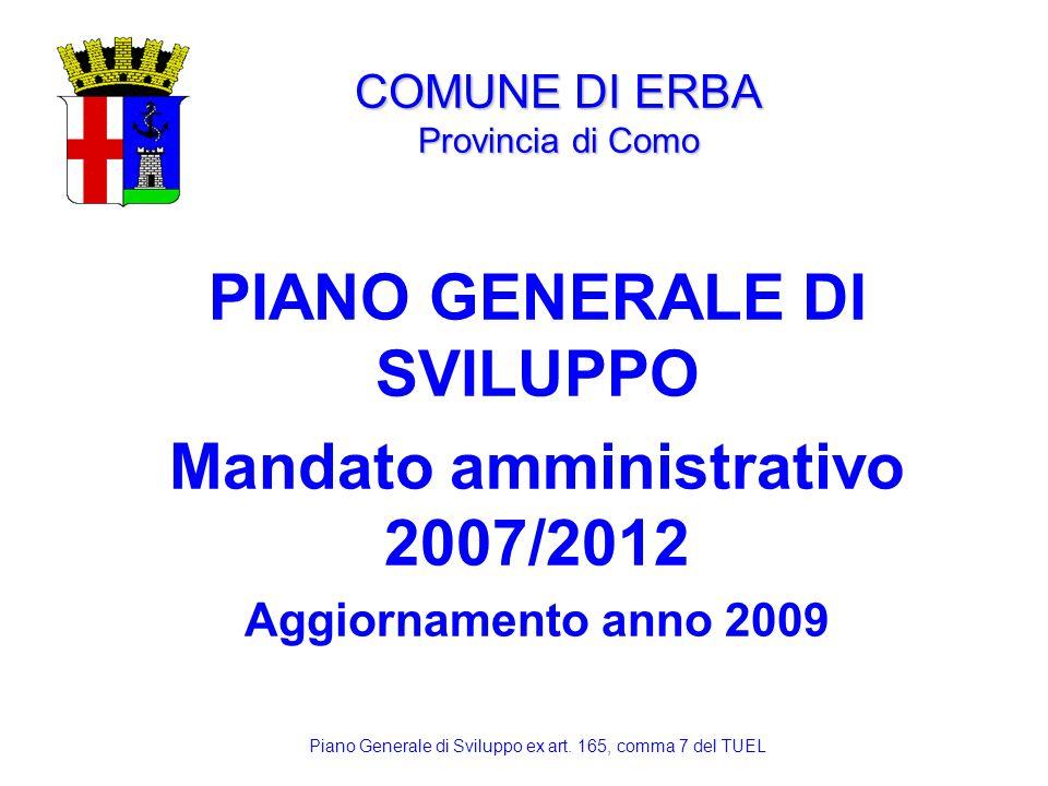 COMUNE DI ERBA Provincia di Como