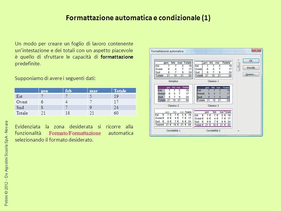 Formattazione automatica e condizionale (1)
