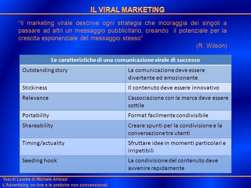 Le caratteristiche di una comunicazione virale di successo