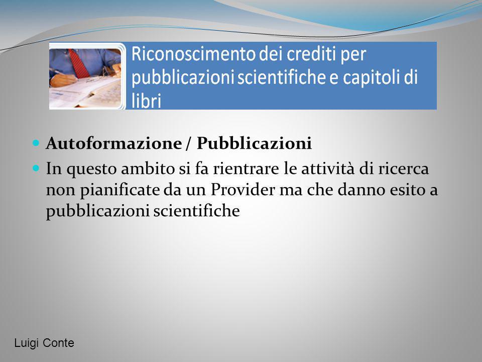 Autoformazione / Pubblicazioni