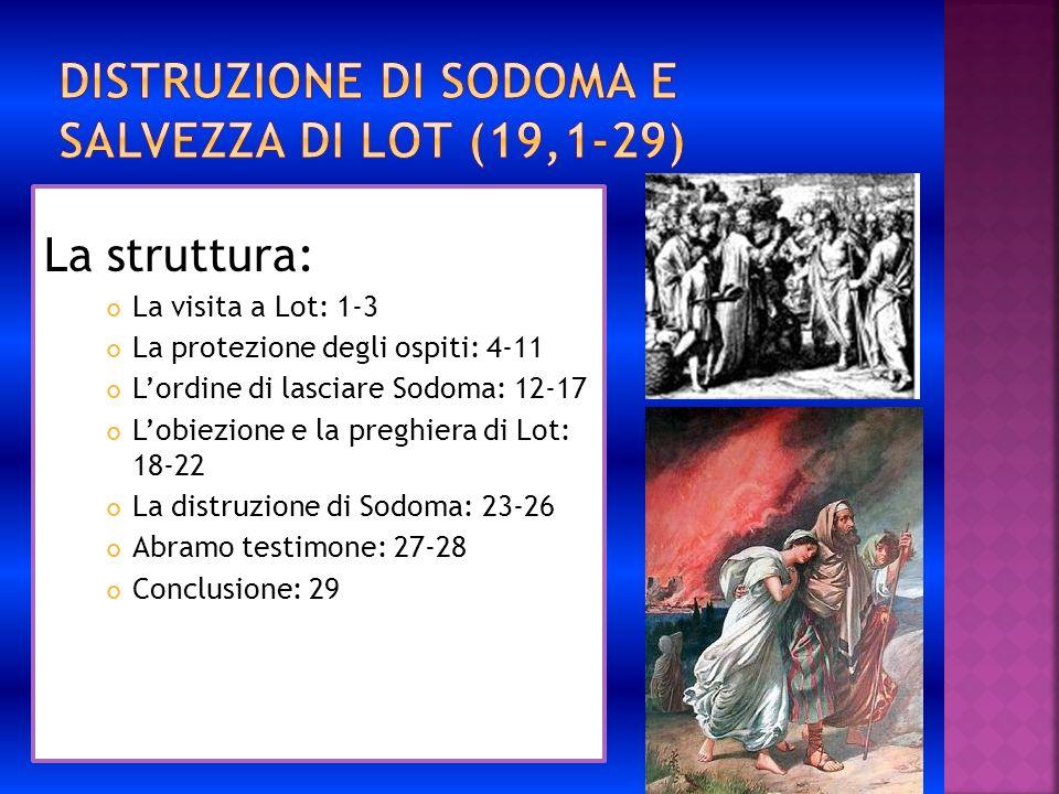 Distruzione di Sodoma e salvezza di Lot (19,1-29)
